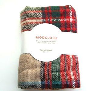 ModCloth Loch And Key Blanket Scarf